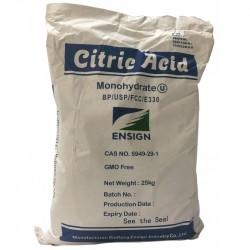 Acide Citrique, 25 Kg