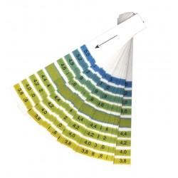 Bandes de papier pH 3.8 - 5.5